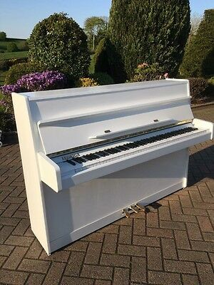 Legnica Modern White Upright Piano