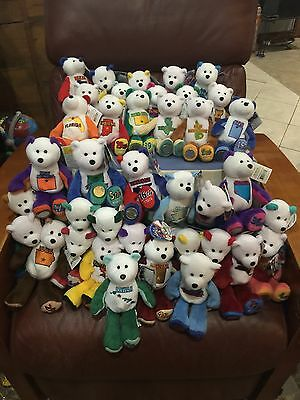 LIMITED TREASURE STATE Quarter COIN BEARS Lot Of 38 Bears SFA