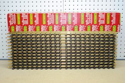 LGB 1060 (10600) x 12 Brass Straight Brass Track 600mm w/Box *G-Scale* NEW