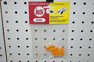LGB 5026 (10260) x 4 Insulated Track Rail Joiners *G Scale* NEW