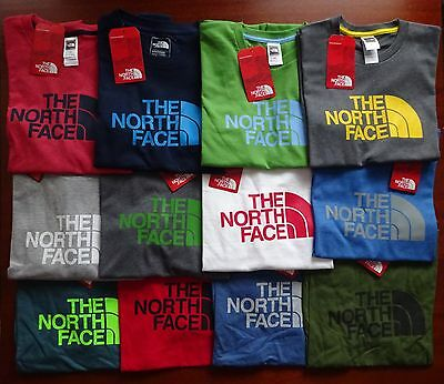 North Face Men's Short Sleeve Half Dome T Shirt NWT New Fit