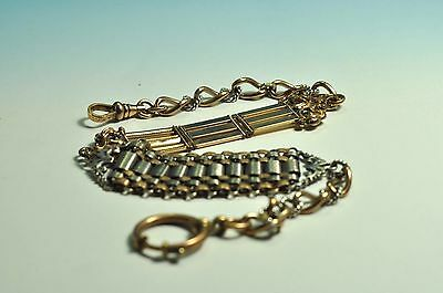 Absolutely Beautiful unique design Antique gold filled pocket watch chain fob