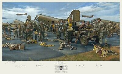 Operation Market Garden James Dietz 101st AB Band of Brothers Autographed