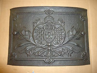 Antique Wood Stove Cast Iron Embossed Door,very Unique,furnace,heater,steampunk