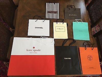 Designer Paper Shopping Bags High End Stores