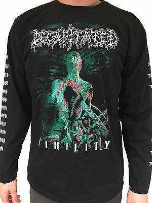 "Decapitated ""Nihility"" Long Sleeve T Shirt - OFFICIAL"