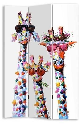 NEW Large 3 Panels Giraffe's Room Divider / Screen