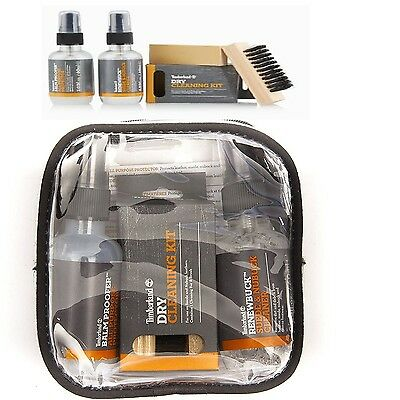 Timberland Product Care 4 pcs Travel Kit BalmProofer SHOE BOOT CLEANER PROTECTOR