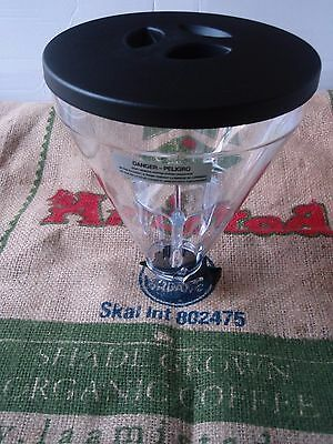 Mazzer Super Jolly Whole Bean Hopper - Complete Hopper w/ Lid Made in Italy