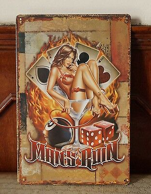 Collectibles Poster Vintage Tin Metal Signs Home Pub Bar Decor