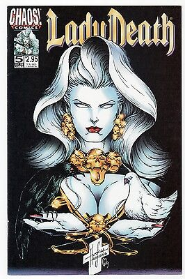 CHAOS! Lady Death The CRUCIBLE #5 VF+