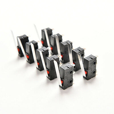10X Tact Switch KW11-3Z 5A 250V Microswitch 3PIN Buckle WCL