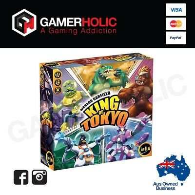 King Of Tokyo 2nd Edition Board Game Brand New