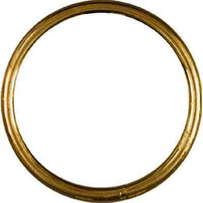 "Stanley National Hardware 3156BC 2"" Ring in Solid Brass"