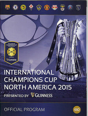 2015 Champions Cup - Manchester United - Chelsea - Barcelona - Liverpool  +  T/S