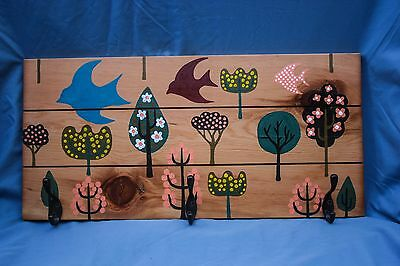 Kinderpack Babywearing Woodland Whimsy Inspired Carrier Coat Rack Decor Wall Art