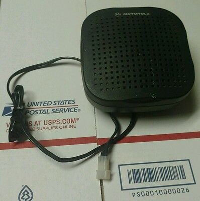 Genuine OEM Motorola HSN4038A Mobile External Radio Speaker
