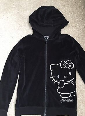Girls Hello Kitty Hooded Top Age 12-13