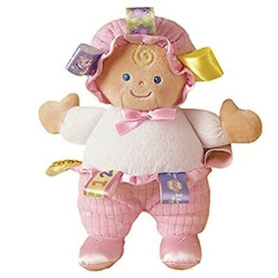 56540 Taggies - Doll Soft Toy -  Signature Pink Plush Babies Comforter