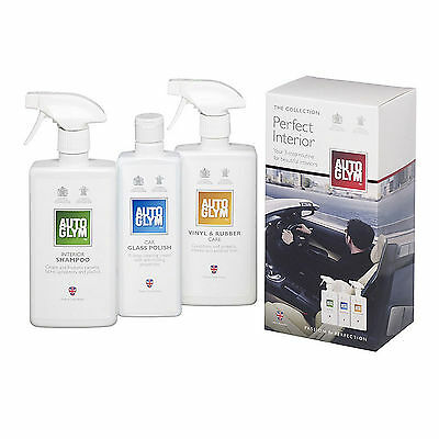 Autoglym™ Perfect Interior Collection Kit Auto Glym Car Care Cleaning Set NEW