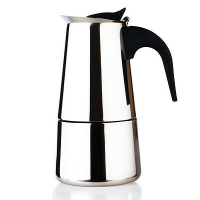 Coffee Maker 12 espresso cup New Stainless Steel Percolator 450 ml late cafe