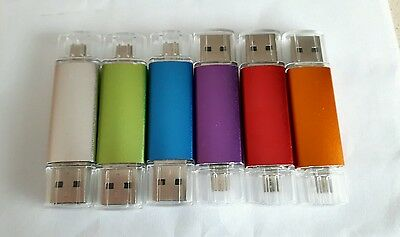 Pen drive 2.0 64Gb memoria flash otg micro usb smartphone tablet