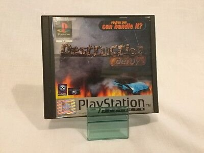Destruction Derby (Sony PlayStation 1, 1995) [Mateo's]