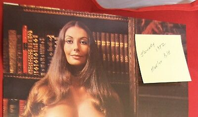 Replacement Playboy Centerfold January 1972 Marilyn Cole & PMOY Near Mint Cond.