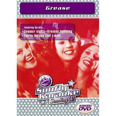 Sunfly Karaoke DVD Grease - Full Video / Blue Options - All Region & Any Player