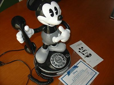 - Limited Edition disney mickey mouse telephone