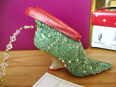 Just The Right Shoe - Bejeweled #90216 2002 2nd Annual Ornament, Club Exclusive