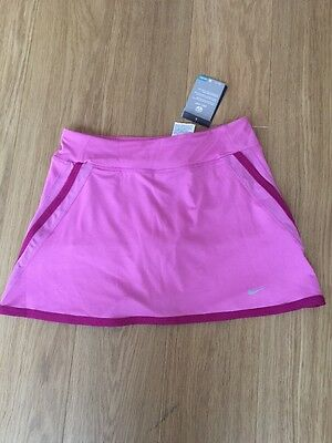Girls Nike Dri Fit Pink Tennis Skirt / Skort Age 13-15 Years BNWT
