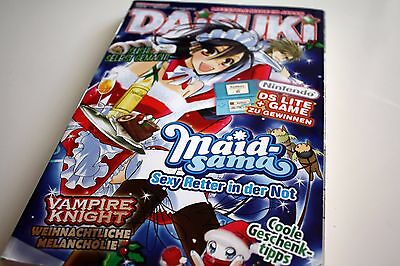 Daisuki Magazin Lifestyle Made in Japan Dezember 12/2008 Manga #438