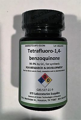 Tetrafluoro-1,4-benzoquinone, 99.9% by GC, for synthesis, 1g