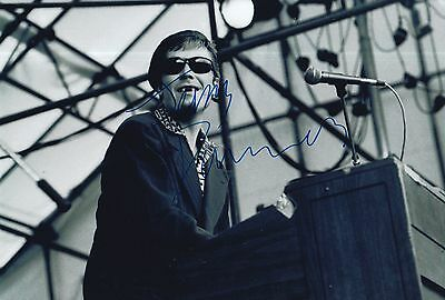 Jerry Dammers Hand Signed 12X8 Photo The Specials Very Rare 1.