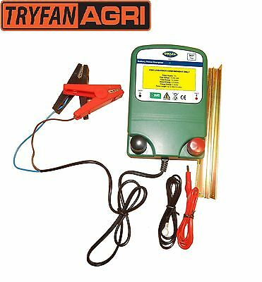 ENERGISER FOR ELECTRIC FENCE 12v BATTERY POWER HIGH OUTPUT 0.6J