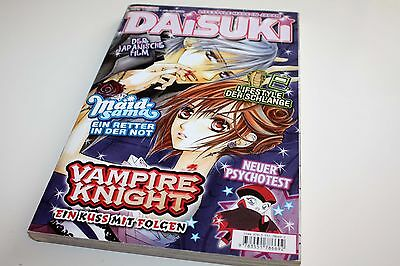 Daisuki Magazin Lifestyle Made in Japan Oktober 10/2008 Manga #431