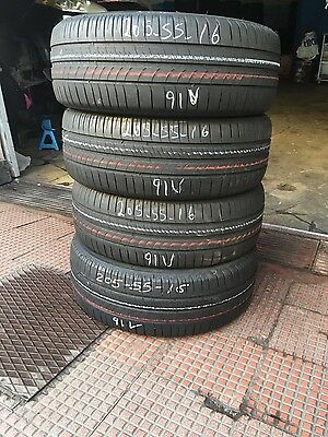set 4 pneumatici gomme usate Michelin 205/55 r16