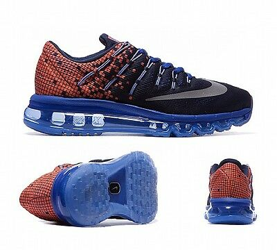 NEW NIKE AIRMAX 2016 PRINT (820331 400) Size 4.5 WOMENS TRAINERS RUNNING GYM