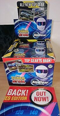 Topps Top Gear Turbo Attax Trading Cards Brand New Out Full Box
