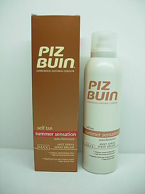 Piz Buin Self Tan Autoabbronzante Spray Corpo Max 150 Ml