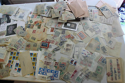 Box Full With Thousands Of  Mint& Used Worldwide Stamps Many Better