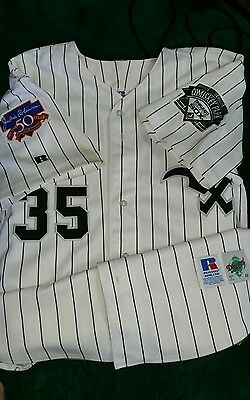 Frank Thomas size 48 Russell Jersey