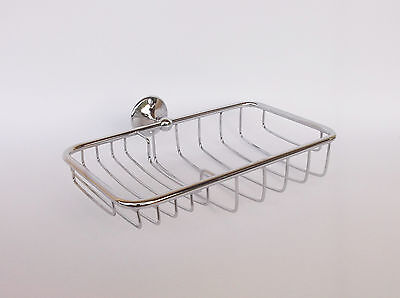 Vintage Chromed Brass Soap Dish