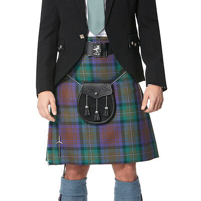 Lochcarron 100% Wool Isle of Skye Kilt (8 yard, 16oz, strome) - Made in Scotland