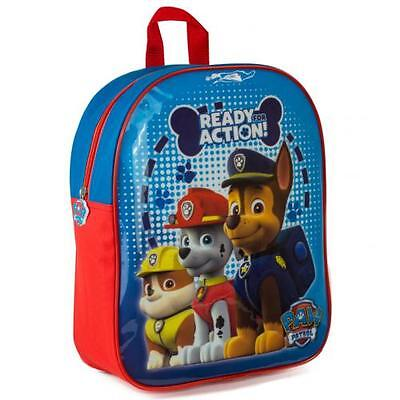 Paw Patrol Kids Childs Childrens Rucksack Backpack Boys