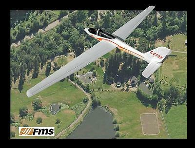 FMS Fox  V2 Glider PNP Version with Flap