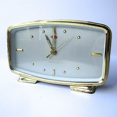 Vintage Polaris Wind-up Alarm Clock 60's-70's Made in China. Good working order.