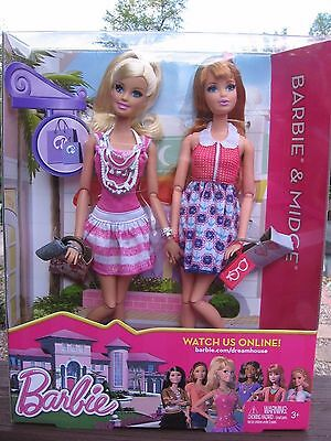 Barbie and Midge Barbie Life in the Dreamhouse Dolls Gift Set 2012 BNIB