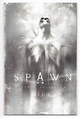 SPAWN - BLOOD & SALVATION by McElroy - Wood TPB edition Image USA Ingles